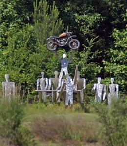 Barber Motorsports Park Sculpture